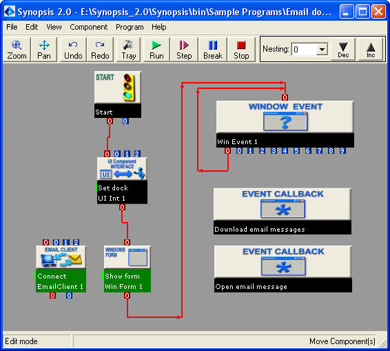 visual programming example
